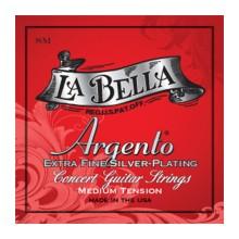 قیمت خرید فروش سیم گیتار کلاسیک لابلا La Bella SM Argento Extra Fine Silver Plating – Medium Tension