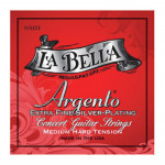 سیم گیتار لابلا La Bella SMH Argento Extra Fine Silver Plating – Medium-Hard Tension