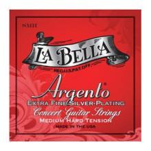 قیمت خرید فروش سیم گیتار کلاسیک لابلا La Bella SMH Argento Extra Fine Silver Plating – Medium-Hard Tension