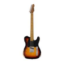 قیمت خرید فروش گیتار الکتریک ال تی دی LTD TE-254 Distressed 3-Tone Burst