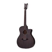 قیمت خرید فروش گیتار آکوستیک شکتر Schecter Deluxe Acoustic Satin See Thru Black SSTBLK SKU #3716