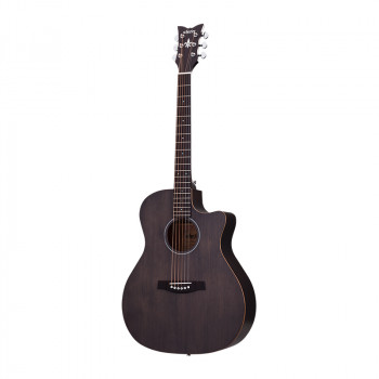 گیتار آکوستیک شکتر Schecter Deluxe Acoustic Satin See Thru Black SSTBLK SKU #3716