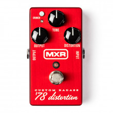 قیمت خرید فروش افکت گیتار الکتریک ام ایکس آر MXR Custom Badass '78 Distortion M78