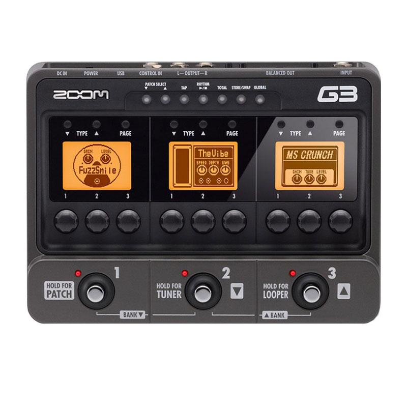 افکت گیتار الکتریک زوم Zoom G3