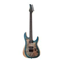 قیمت خرید فروش گیتار الکتریک شکتر Schecter Reaper-6 Satin Sky Burst SSKYB SKU #1501