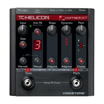 پردازشگر صدا  تی سی هلیکون TC Helicon VoiceTone Correct XT
