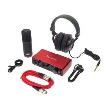 قیمت خرید فروش کارت صدا فوکوسرایت Focusrite Scarlett 2i2 Studio 3rd Gen Recording Bundle