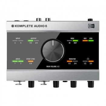 کارت صدا نیتیو اینسرومنت Native Instruments Audio 6