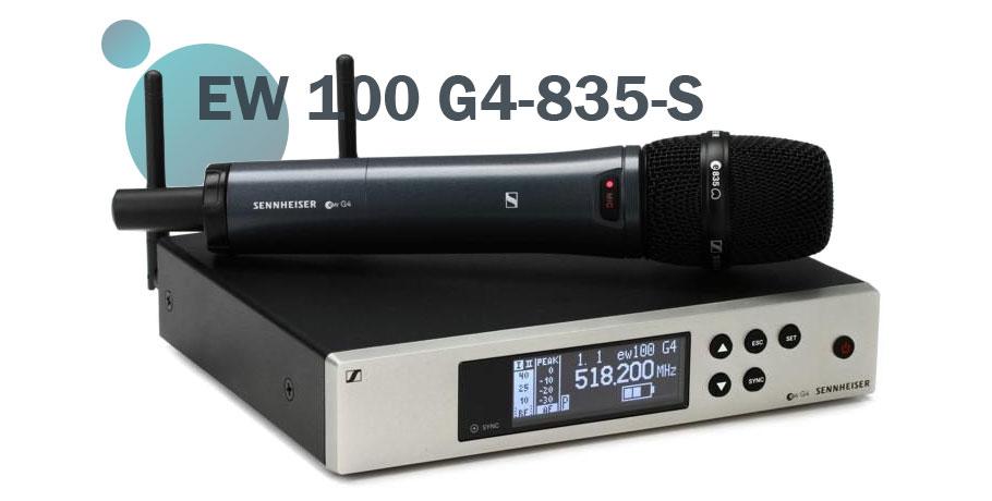میکروفون بی سیم Sennheiser EW 100 G4-835-S