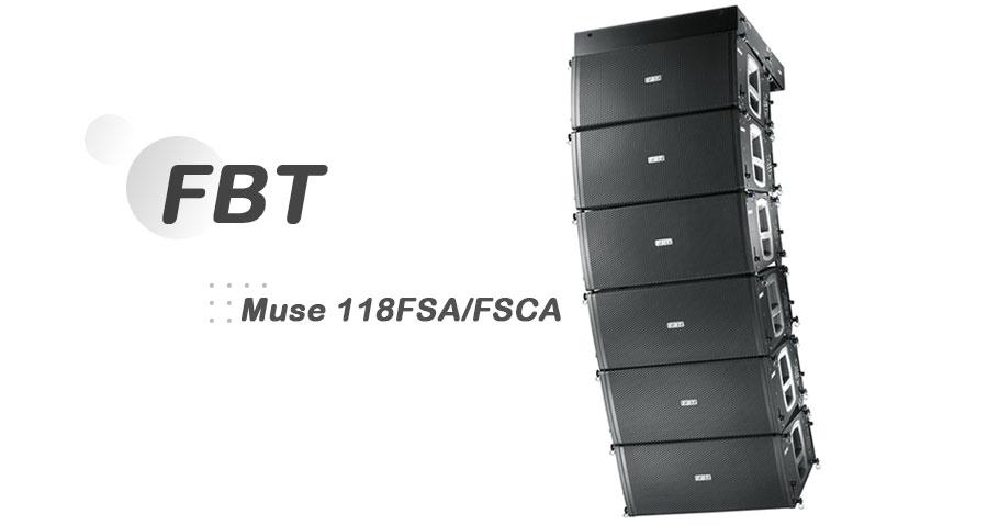 اسپیکر اکتیو FBT Muse 118FSA/FSCA
