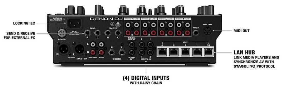 میکسر دی جی Denon DJ X1850 Prime