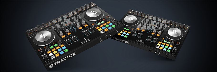 Native Instruments Traktor S4 MK2 دی جی کنترلر