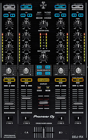 Pioneer DDJ-RX دی جی کنترلر