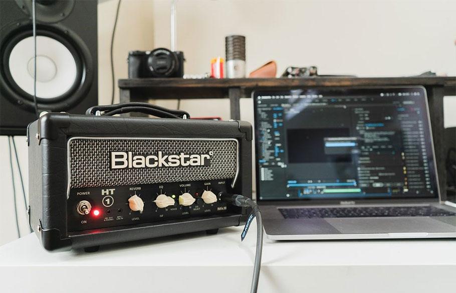 امپلی فایر گیتار Blackstar HT1RH MKII 1-watt Tube Head with Reverb