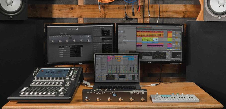 فوت کنترلر میدی Blackstar Live Logic 6-button MIDI Footcontroller