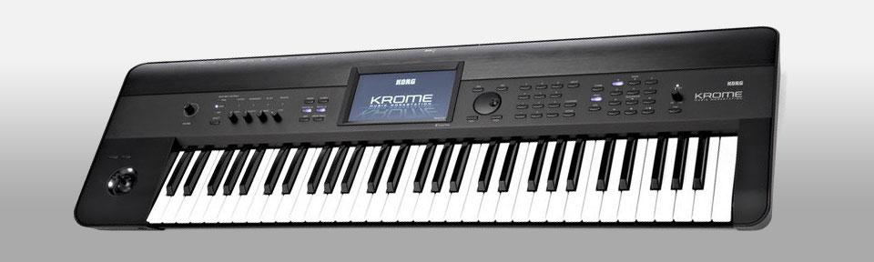 سینتی سایزر Korg Krome 61-Key