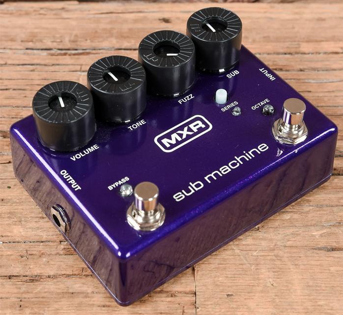 افکت گیتار الکتریک MXR M225 Sub Machine Octave Fuzz
