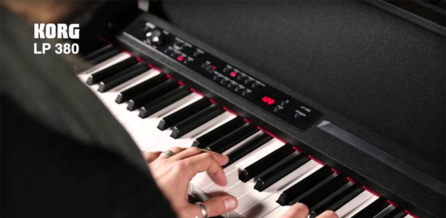 KORG LP-380-WH پیانو دیجیتال