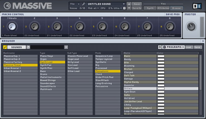 Native Instruments Massive 1.5.1 with Full Preset Pack وی اس تی پلاگین