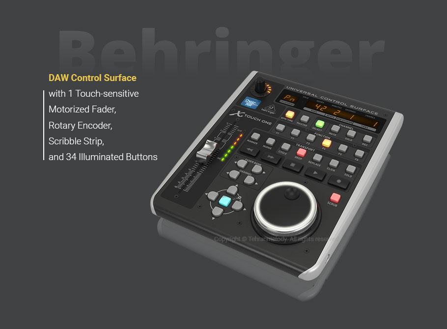 کنترلر نرم افزار Behringer X-TOUCH ONE