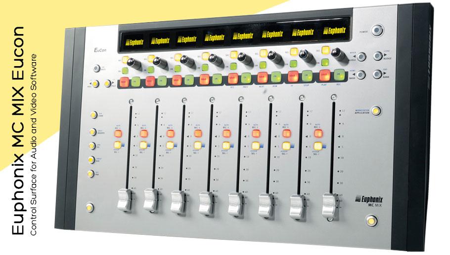 کنترلر نرم افزار Euphonix MC MIX Eucon