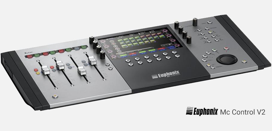 کنترلر نرم افزار Euphonix Mc Control V2