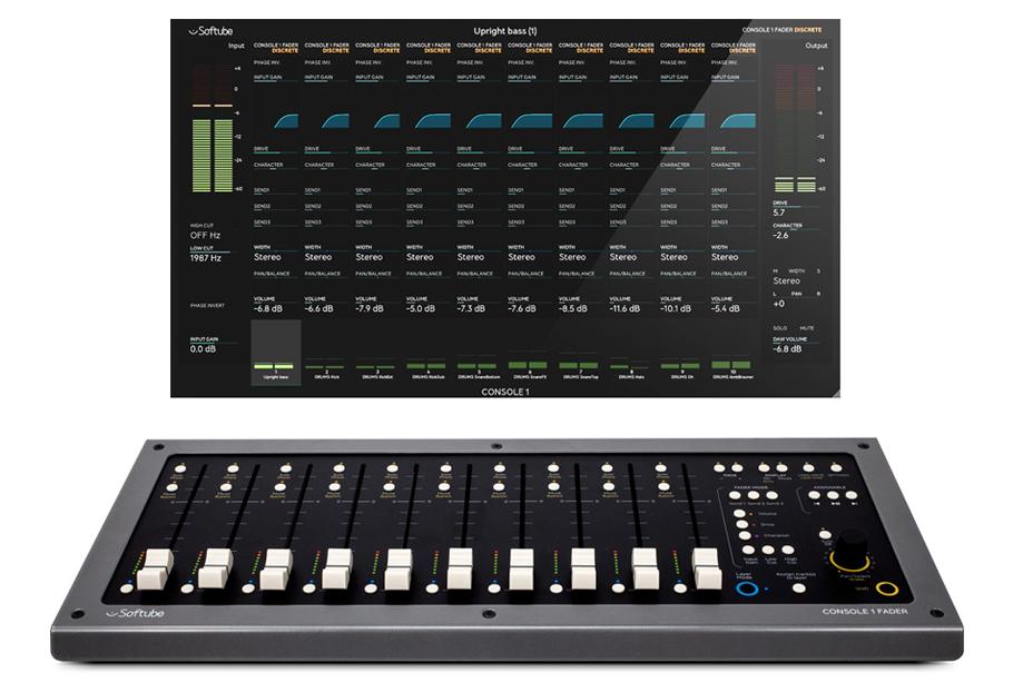 کنترلر نرم افزار Softube Console 1 Fader