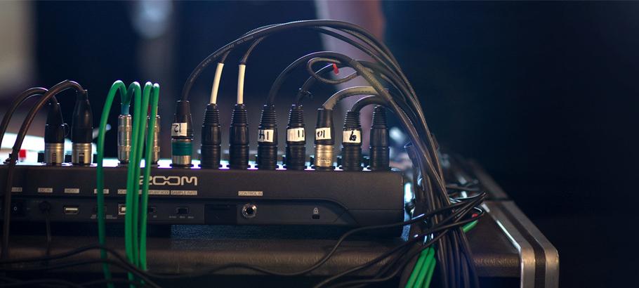 کنترلر نرم افزار ZOOM L-12