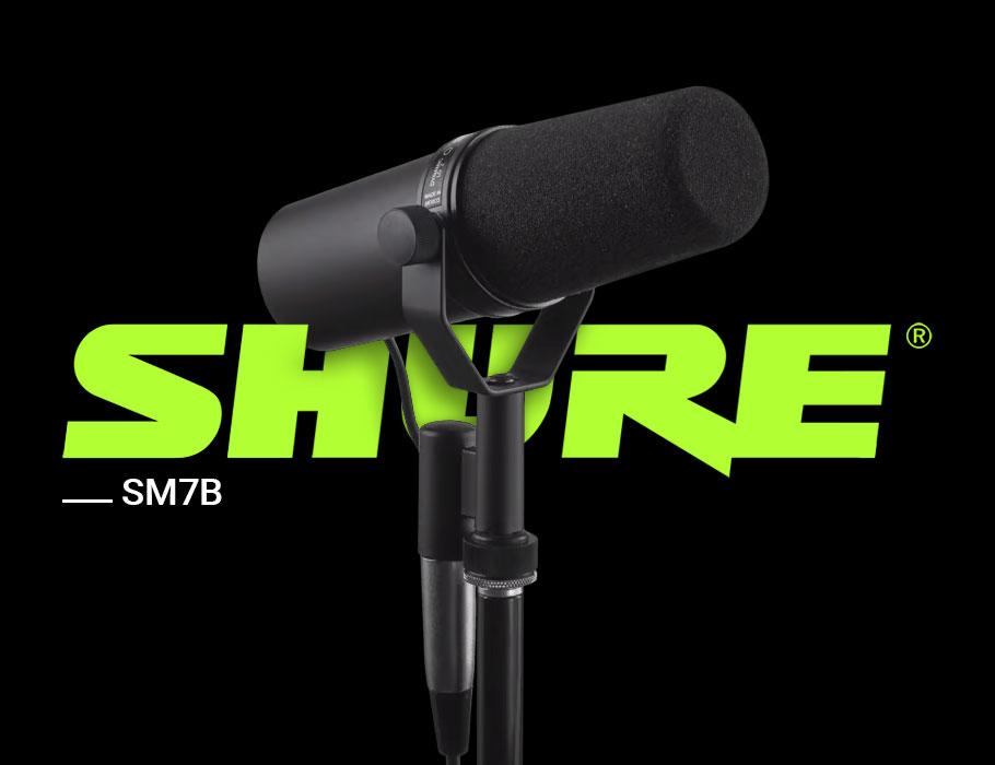 میکروفن داینامیک Shure SM7B