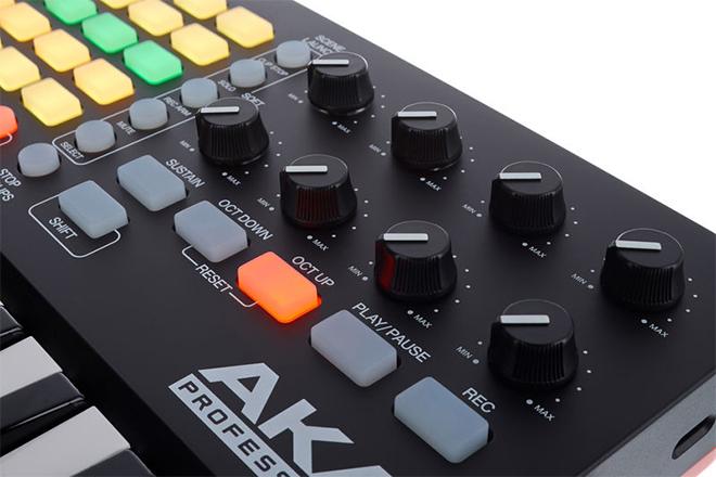 AKAI APC Key 25 میدی کنترلر