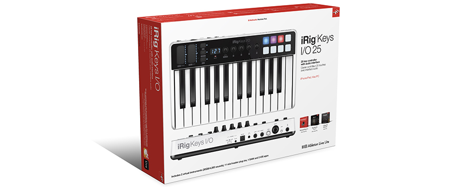 میدی کنترلر IK Multimedia iRig Keys I/O 25