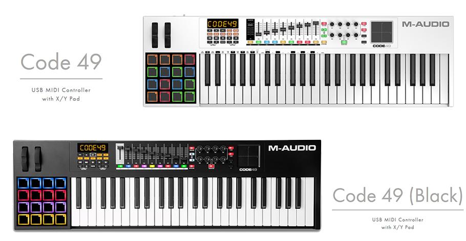M-Audio Code 49 میدی کنترلر