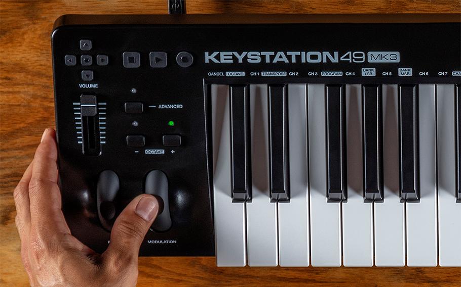 M-Audio Keystation 49 MK3 میدی کنترلر