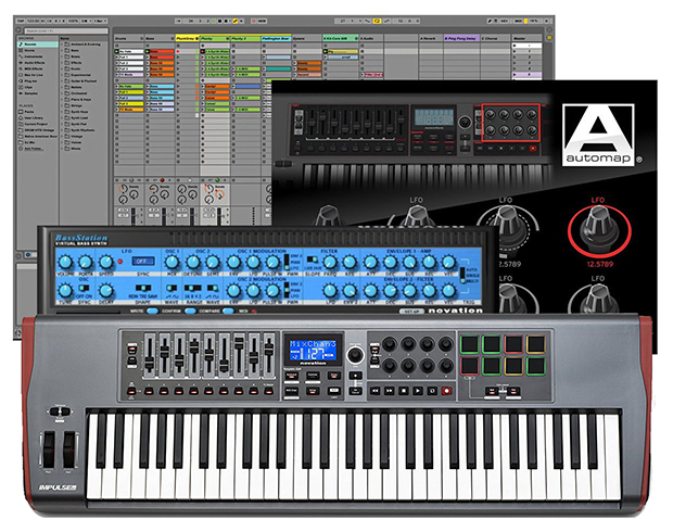 Novation Impulse 61 میدی کنترلر