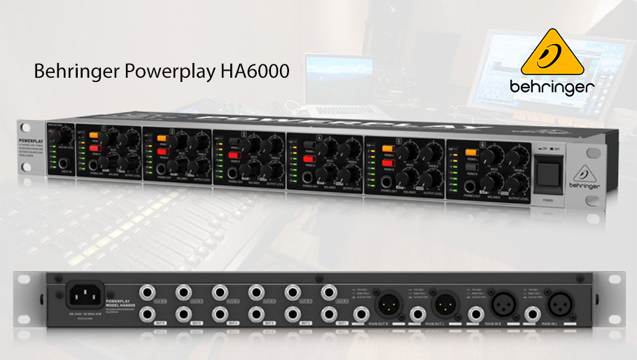 Behringer Powerplay HA6000 پری آمپ هدفون