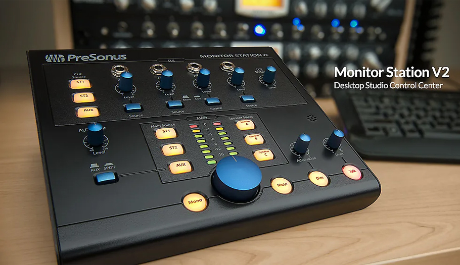کنترلر صدا Presonus Monitor Station V2