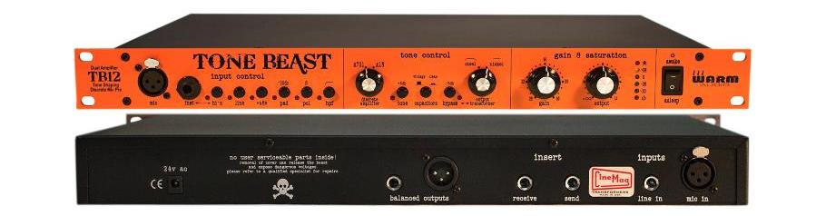 پری امپ Warm Audio TB12