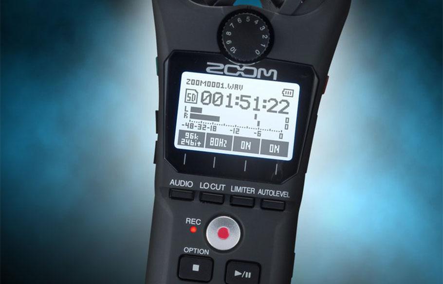 رکوردر صدا Zoom H1N