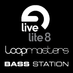 Comes with Ableton Live Lite, Novation's Bass Station synth and a Loopmasters sample pack