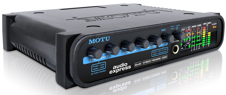 Motu Audio Express کارت صدا