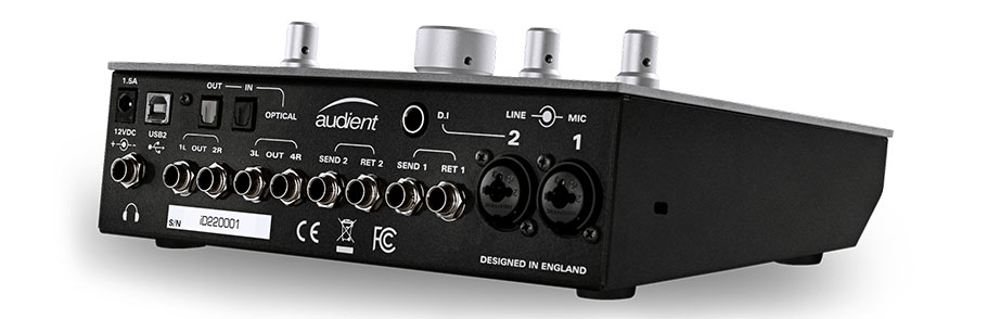 Audient iD22 کارت صدا