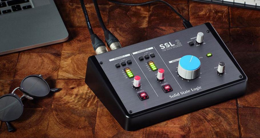 کارت صدا Solid State Logic SSL 2
