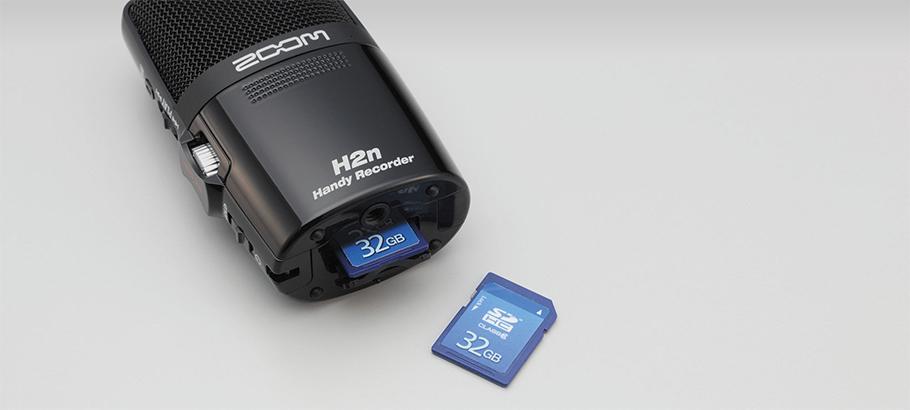رکوردر صدا ZOOM H2n