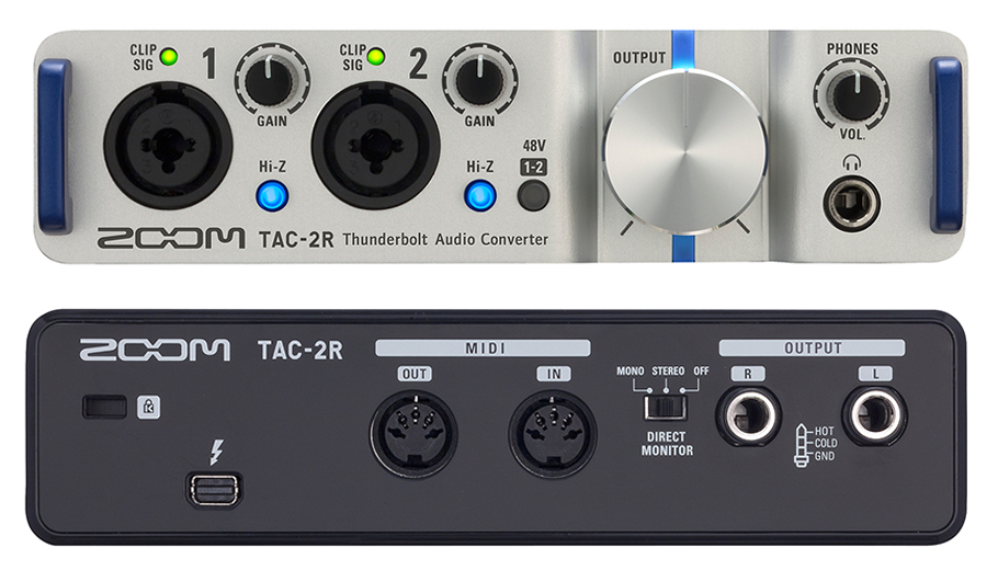 کارت صدا مخصوص سیستم عامل مک زوم ZOOM TAC-2R