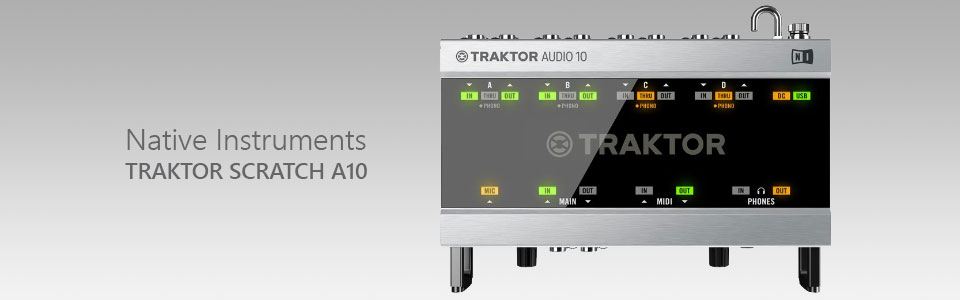 کارت صدا Native Instruments TRAKTOR SCRATCH Audio 10