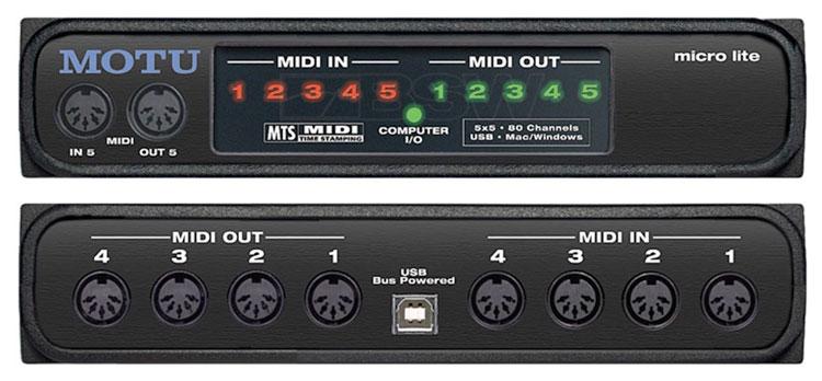 اینترفیس MIDI