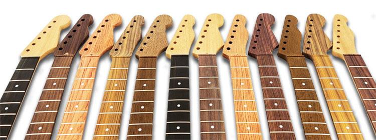 چوبهای رایج در گیتار