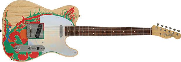 Fender Jimmy Page Telecaster — Natural w: Artwork